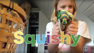 Squishy samling hjemmelavet