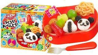 日本食玩DIY熊貓飯糰便當 Kracie DIY Panda Lunch Box  Popin Cookin