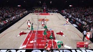 I posterized Michael Jordan in NBA 2k18?!