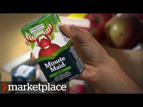Where are the apples in your juice from? (Marketplace)