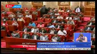 KTN News: IEBC tender their resignation to President Uhuru Kenyatta paving way for new team, 5/10/16