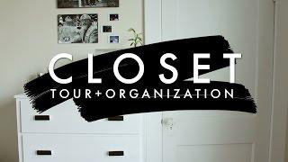 SeeKaysee - CLOSET TOUR & ORGANIZATION | Minimalist Capsule Wardrobe