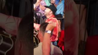 Garth Brooks sings If Tomorrow Never Comes to 89 yr old woman for her birthday and gets guitar