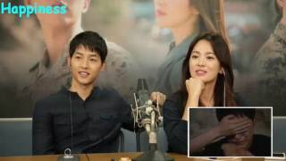 Descendant of the Sun Couple Commentary sub Indonesia   Joong Ki Crying Scenes