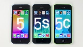 iPhone 5s vs iPhone 5c vs iPhone 5 (Benchmark Tests)