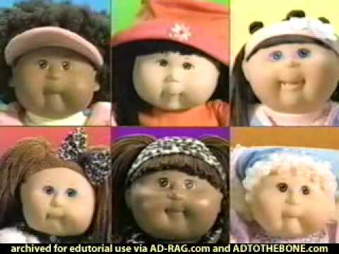 """Toys R Us """"Cabbage Patch Kids"""" Commercial"""