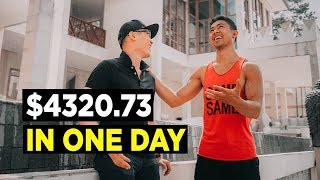 How He Made $4320.73 In ONE DAY Online (STUDENT SUCCESS)