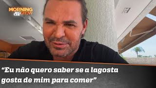 Eduardo Costa: 'É preconceito achar que eu pego mulher só por causa do dinheiro'