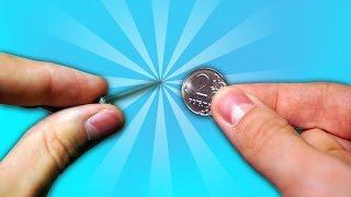 ГВОЗДИ СКВОЗЬ МОНЕТУ! Фокусы с монетами