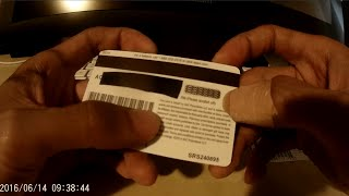 How to remove scratch off PIN cover label on gift/phone cards quickly, easily, cleanly!