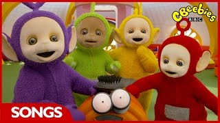 CBeebies Songs | Teletubbies Big Hugs Song