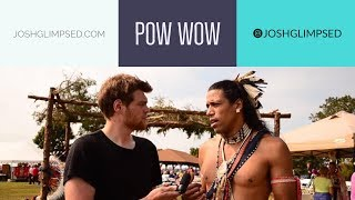 We Visit A Real Native American POW WOW / USA
