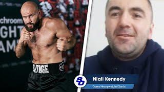 'I DON'T FEAR THE SAVAGE' - Niall Kennedy tells Alen Babic 'KEEP TALKING'