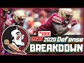 LOOK OUT! / Florida State Seminoles Roster Breakdown - DEFENSE