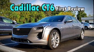 2019 Cadillac CT6 Platinum: FIRST REVIEW   Caddy's Flagship Gets UPGRADED!