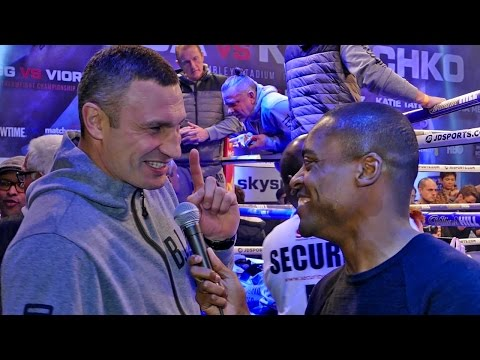 "EXCLUSIVE: Vitali Klitschko ""I COMEBACK Just to Fight Lennox Lewis!"""