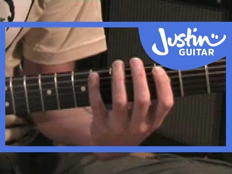 Jazz Blues with Walking Bass (Guitar Lesson) How to play