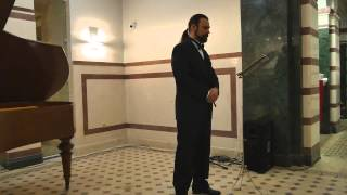 "Peter Danailov - baritone- ""Ave Maria"" (Franz Schubert)"