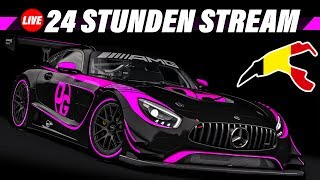 24h Spa Rennen | 24 Stunden Livestream | Assetto Corsa GT3 Multiclass Stream Gameplay German