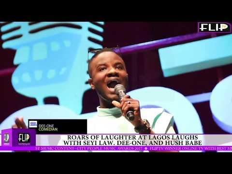 Ex-Big Brother Naija Housemate, Dee-One thrills crowd at Lagos laughs 2018