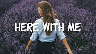 Elina - Here With Me (lyric video)