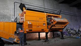 Experience our new shredder generation: Doppstadt CERON Type 256