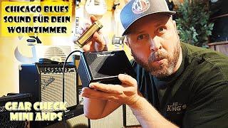 Blues Harp (Mundharmonika) lernen #9  Verstärker Test & Chicago Blues Sound für dein Wohnzimmer.