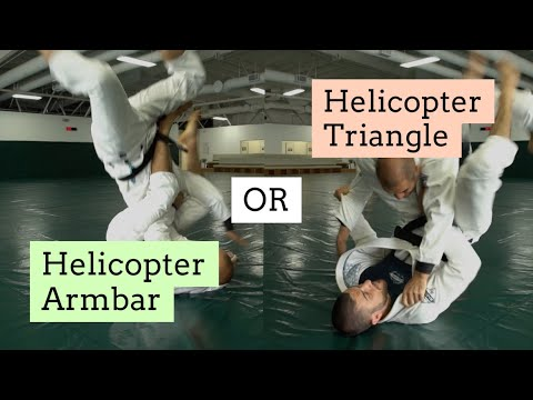 Helicopter Armbar OR Helicopter Triangle? (A Gracie Debate)