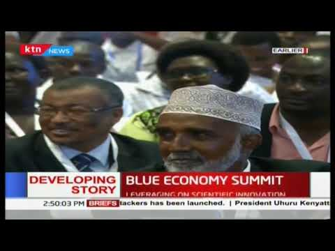 I look forward to next week as we engage the world  Uhuru full speech in blue economy summit