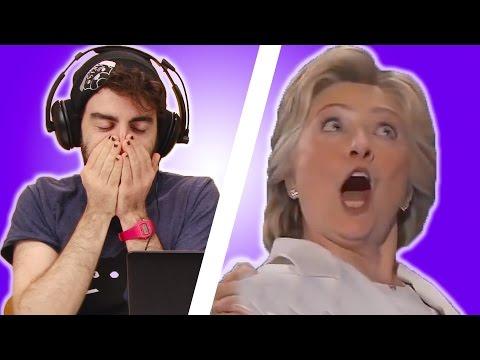 Irish People React To Hillary Clinton