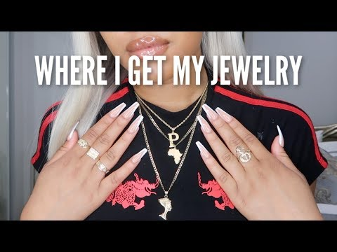 MY NECKLACES, RINGS, & WHERE I BUY THEM FROM
