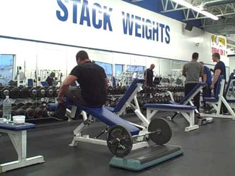 Killer Tricep Exercise - Decline Bench Tricep Extensions