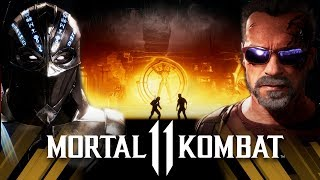 Mortal Kombat 11 - Noob Saibot Vs Terminator (VERY HARD)