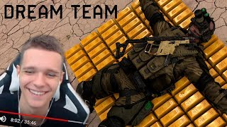 ВСЕ ВЫПУСКИ DREAM TEAM WARFACE (МС-Серега,Монтер,Монти,Ласка,Разор) - Реакция