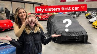 SURPRISING MY 17 y/o SISTER WITH HER FIRST CAR!