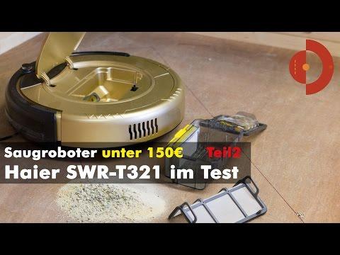 Haier Swr T321 Saugroboter im Praxistest (Teil2)