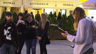 "Amazing street guitarist from Wroclaw, Poland  -Iron Maiden ""fear of the dark"" 4K, ultra HD"
