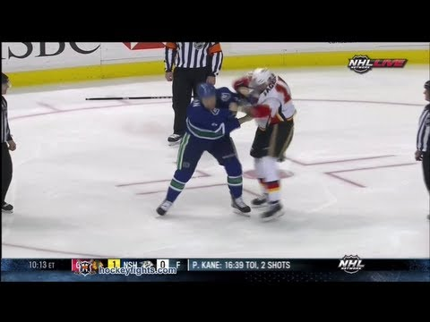Zack Kassian vs. Tim Jackman
