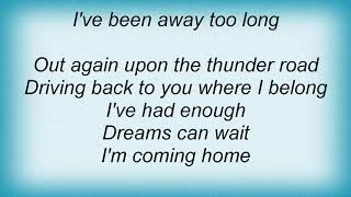 Judas Priest - Thunder Road Lyrics