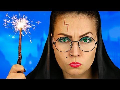 Harry Potter - Hogwarts Schule / Pranks und Life Hacks Für Die Schule!