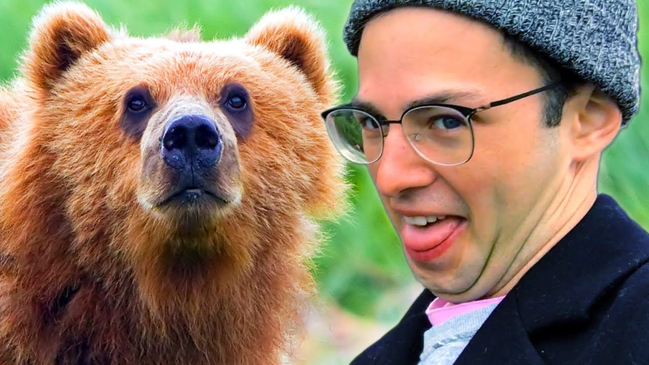 The Try Guys Feed Wild Animals In Alaska • The Try Vlog thumbnail