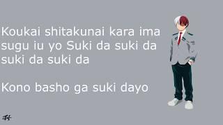 Gambar cover Boku No Hero Academia Season 3 Ending - Update Lyrics ( Miwa) (アップデート)