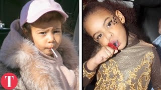 Kim Kardashian's Daughter VS Beyonce's Daughter