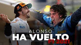Fernando Alonso vuelve a la Fórmula 1 | Efeuno
