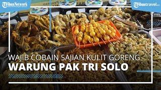 Wajib Cicipi Sajian Penyetan di Solo, Sehari 100 Kilogram Kulit Ayam Ludes Terjual