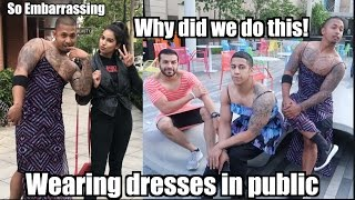 Men Wearing DRESSES in PUBLIC..