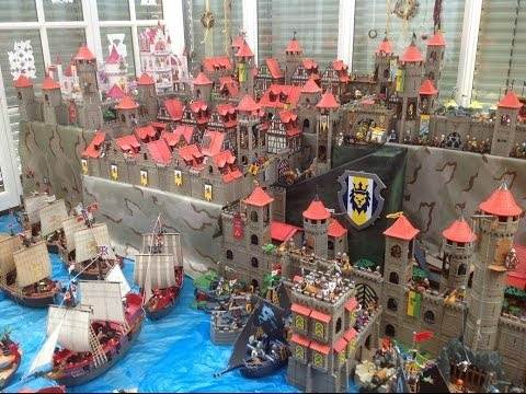 Playmobil - Pirates - Knights - Castle - Ritterburg - Piratenschiff - Ritter