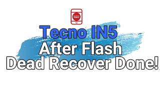 Tecno in5 frp unlock done with Sp flash tool only - hmong video