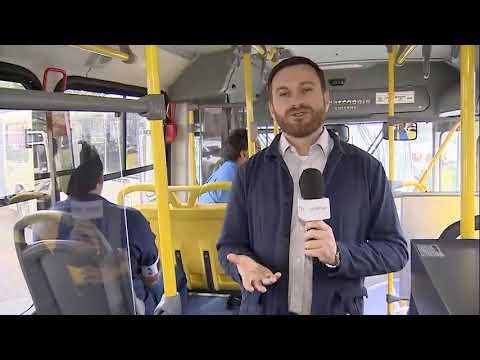 Governo entrega novos ônibus e reforça transporte na Grande Curitiba