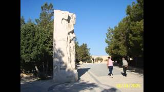 preview picture of video '2005 Jordanie   Madaba, La Ville, Le Mont Nébo, Memorial of Moses'